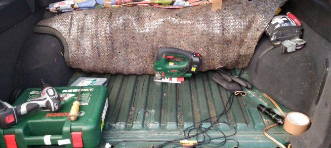 Benzinpumpe mit der Stichsäge reparieren