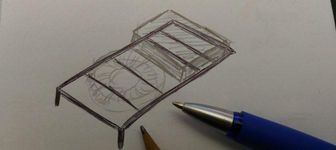 Dachgestell und neue Teddy-MilTainer-Box