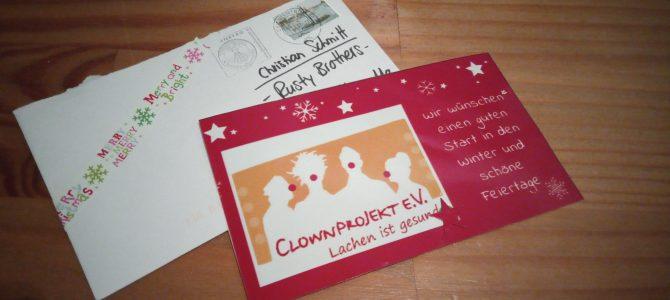 Weihnachtsgrüße von den Clowns